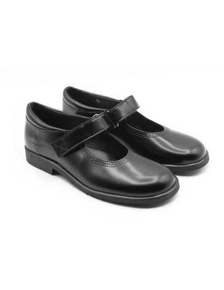Mercedes colegial piel florentic negro negro