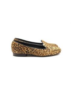 Slipper potro print leopardo