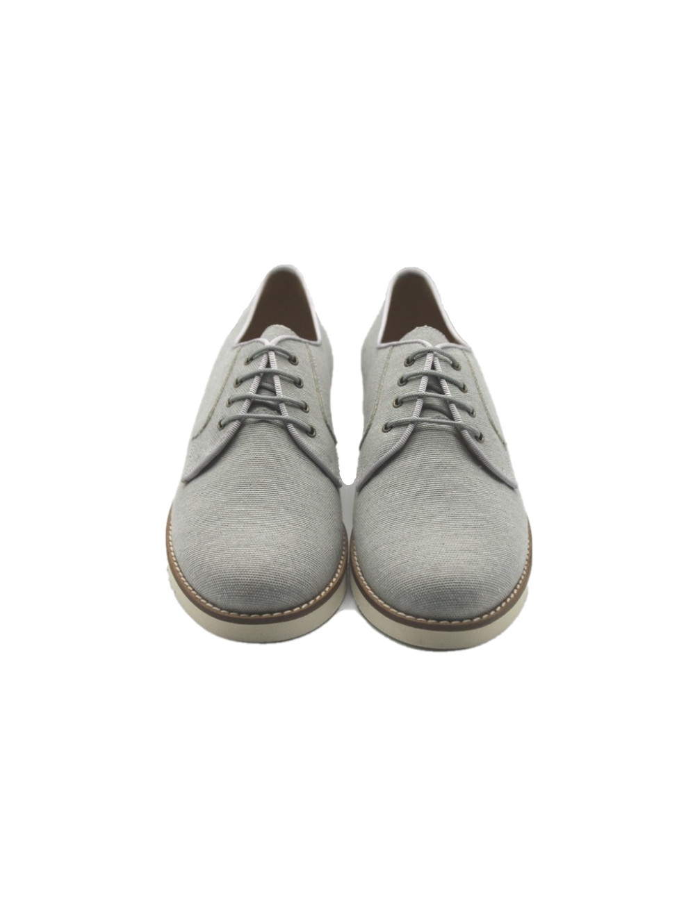 Blucher ceremonia lino gris