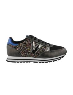 Jogging glitter negra