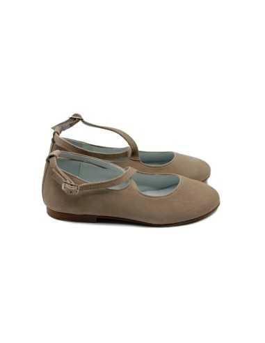 Zapato Gilda ante taupe