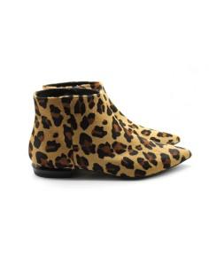 Botín print leopardo