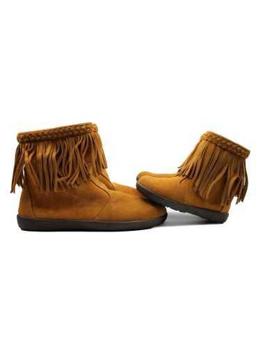 Bota flecos camel twinsisters